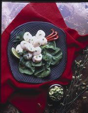 Minted Lime Scallops